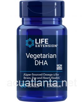 Vegetarian Sourced DHA 30 soft gelcaps 200 milligrams