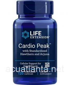 Cardio Peak with Standardized Hawthorn and Arjuna 120 veggie capsules