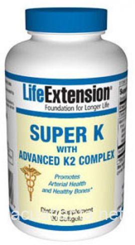 Super K With Advanced K2 Complex 90 soft gelcaps