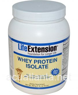 Whey Protein Isolate (Natural Vanilla Flavor) 454 grams