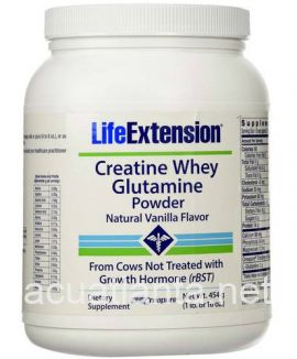 Creatine Whey Glutamine Powder 1 lb Vanilla