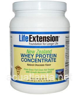 New Zealand Whey Protein Concentrate 660 grams Natural Chocolate Flavor