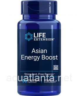 Asian Energy Boost 90 veggie capsules