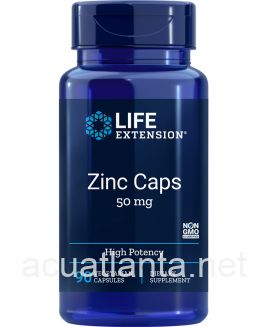 Zinc Caps High Potency 30 veggie capsules 50 milligrams
