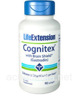 Cognitex with Brain Shield 90 soft gelcaps