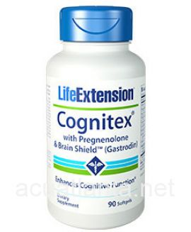 Cognitex with Pregnenolone & Brain Shield 90 soft gelcaps
