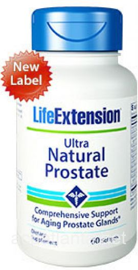 Ultra Natural Prostate 60 soft gelcaps