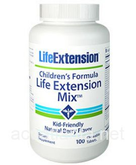 Children's Formula Life Extension Mix 100 chewable tablets