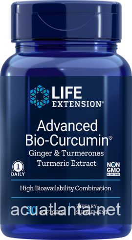 Advanced Bio-Curcumin with Ginger & Turmerones 30 soft gels