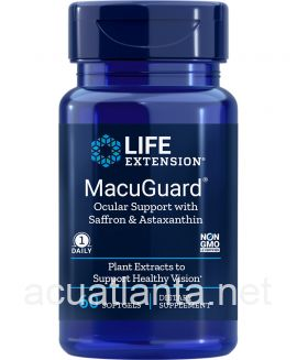 MacuGuard Ocular Support with Astaxanthin 60 softgels