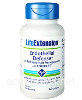 Endothelial Defense with Full-Spectrum Pomegranate and CORDIART 60 soft gelcaps