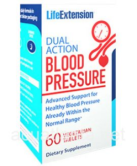 Dual Action Blood Pressure 60 veggie tablets