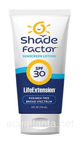 Shade Factor Sunscreen Lotion SPF 30 4 ounce