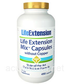 Life Extension Mix Capsules without Copper 490 capsules