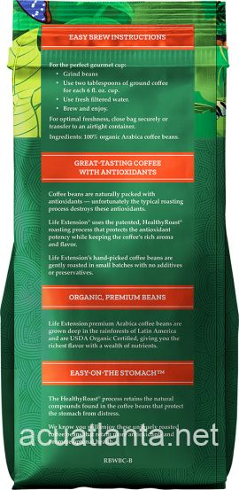 Rainforest Blend Whole Bean Coffee 12 ounce