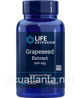 Grapeseed Extract 60 veggie capsules 100 milligrams