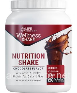 Wellness Shake Chocolate Flavor 16 servings Chocolate