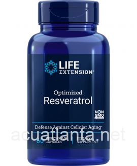 Optimized Resveratrol 60 veggie capsules