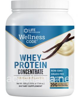 Wellness Code Whey Protein Concentrate 500 grams Vanilla