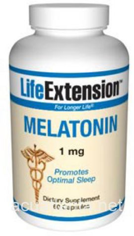 Melatonin 60 capsules 1 milligrams