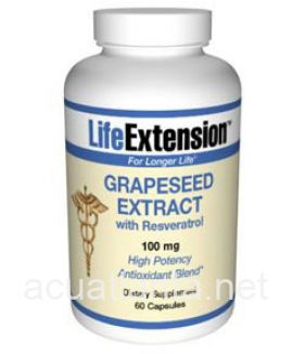 Grapeseed Extract with Resveratol and Pterostilbene 60 capsules