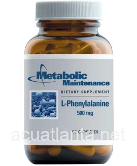 L-Phenylalanine (with B6) 500 mg 60 capsules