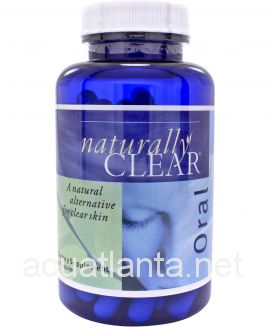 Naturally Clear Oral Supplement 90 capsules