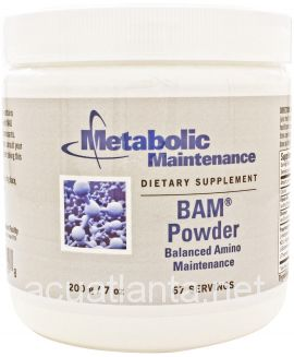B.A.M. Powder (Balanced Amino Maintenance) 200 grams