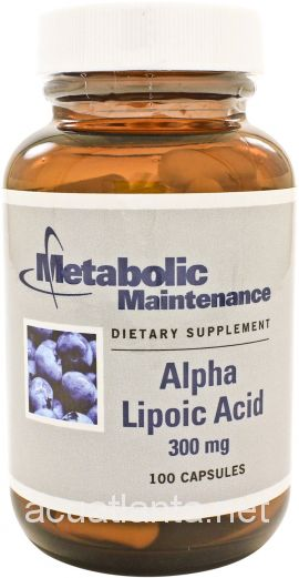 Alpha Lipoic Acid  300 mg 100 capsules