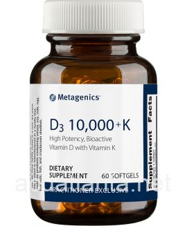 D3 10,000 with K2 60 softgels