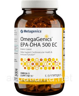 OmegaGenics EPA-DHA 500 EC 120 softgels