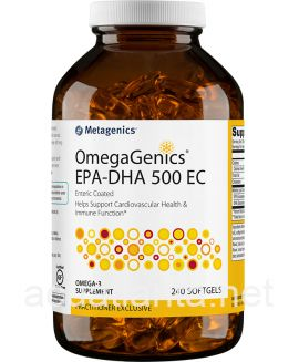 OmegaGenics EPA-DHA 500 EC 240 softgels