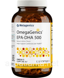 OmegaGenics EPA-DHA 500 120 softgels