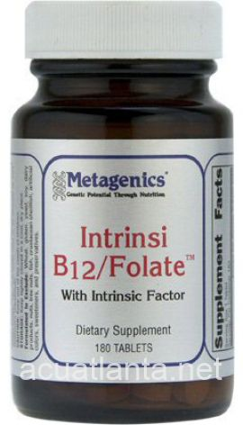 Intrinsi B-12 Folate 180 count