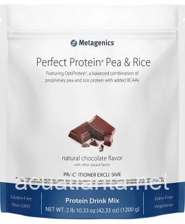 Perfect Protein Pea & Rice 30 servings Natural Chocolate Flavor