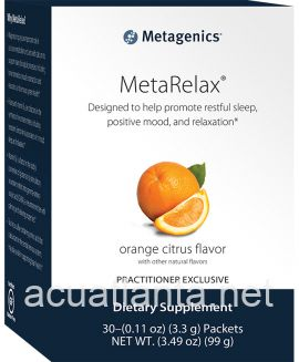 MetaRelax 30 servings Orange Citrus Flavor
