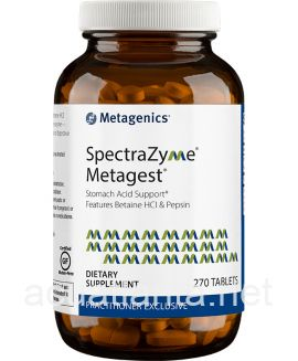 SpectraZyme Metagest (formerly Metagest) 270 tablets