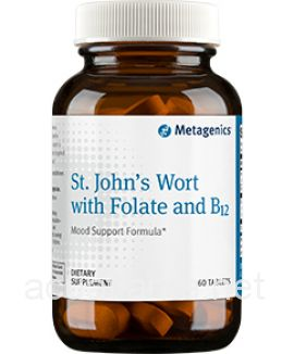 St. John\'s Wort with Folate and B12 60 tablets