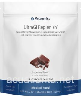UltraGI Replenish Medical Food 30 servings Chocolate Flavor