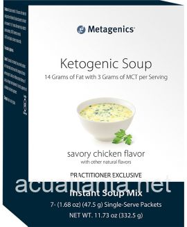 Ketogenic Soup 7 packets Savory Chicken Flavor