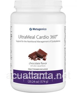 UltraMeal Cardio 360 Pea & Rice Protein 14 servings Natural Chocolate Flavor