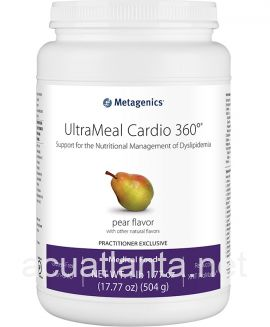 UltraMeal Cardio 360 Pea & Rice Protein 14 servings Natural Pear Flavor