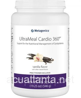UltraMeal Cardio 360 Pea & Rice Protein 14 servings Natural Vanilla Flavor