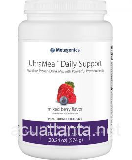 UltraMeal Daily Support 14 servings Mixed Berry Flavor with Other Natural Flavors