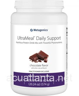UltraMeal Daily Support 14 servings Deluxe Chocolate Flavor with Other Natural Flavors