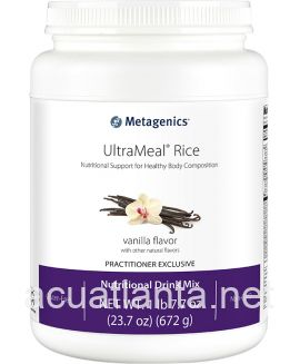 UltraMeal Rice 25.67 oz powder Natural Vanilla Flavor