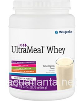 UltraMeal Whey 21.72 oz powder Natural Vanilla Flavor