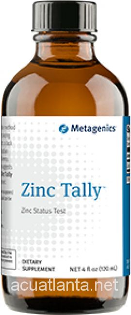 Zinc Tally 12 servings 4 oz liquid