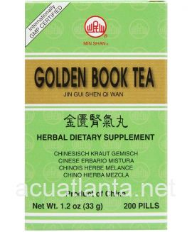 Golden Book Teapills 200 teapills