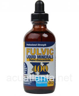 Fulvic Liquid Minerals 4 oz Super Concentrate 400X